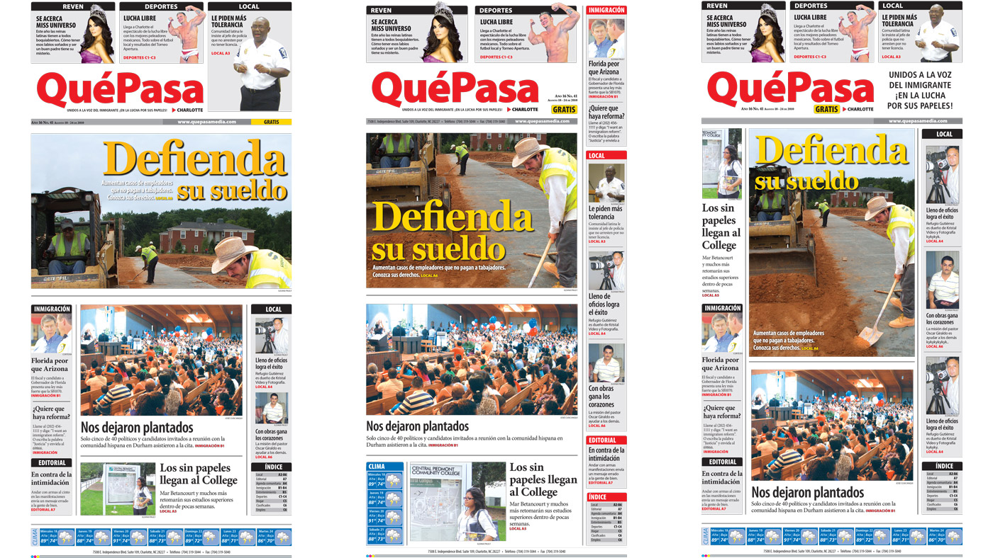 Qué Pasa Newspaper