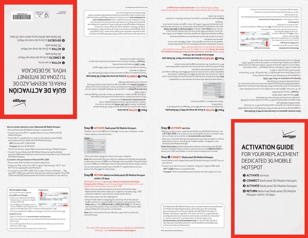 Verizon Activation Guide
